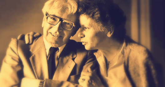 Viktor Frankl with his second wife, Elanore, who he met 1947.