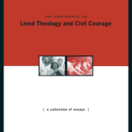 Lived Theology and Civil Courage booklet cover