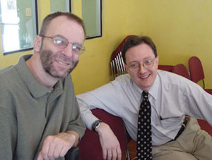 Mark Gornik and Allan Tibbels