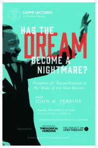 2015 Capps Lecture John M. Perkins