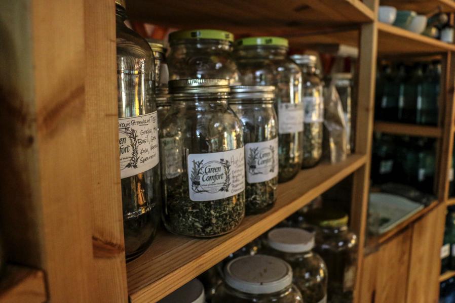 Jars of Herbs