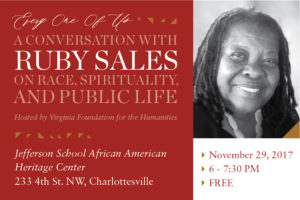 """Every One of Us"": A Conversation with Ruby Sales on Race, Spirituality, and Public Life, Charles Marsh"