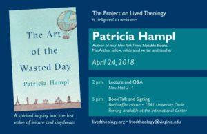 Patricia Hampl poster